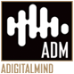 A Digital Mind Sticky Logo