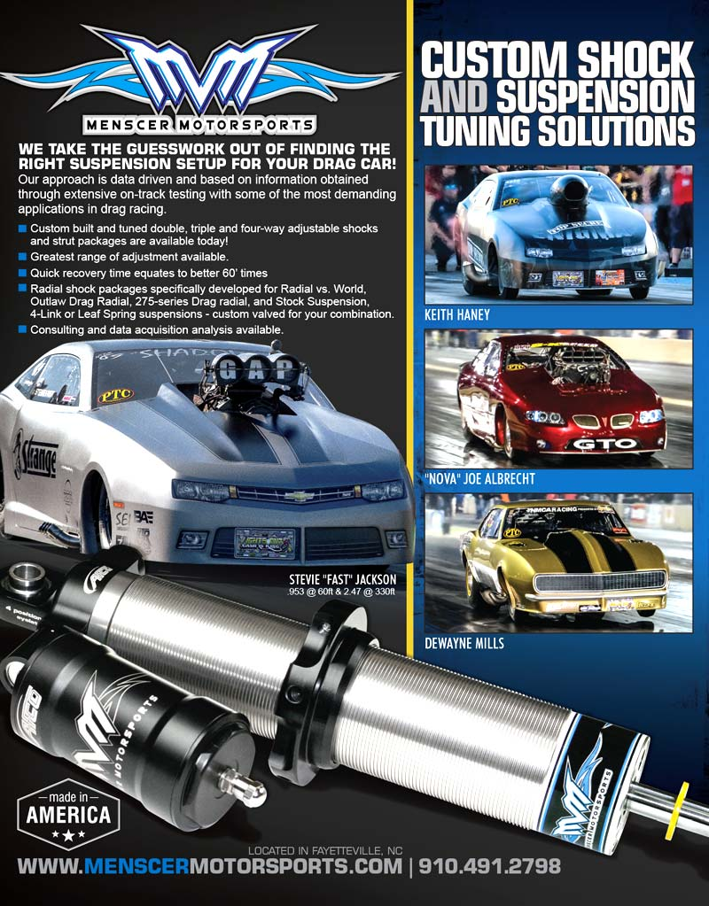 Menscer Motorsports Full Page Ad Design By A Digital Mind 2017