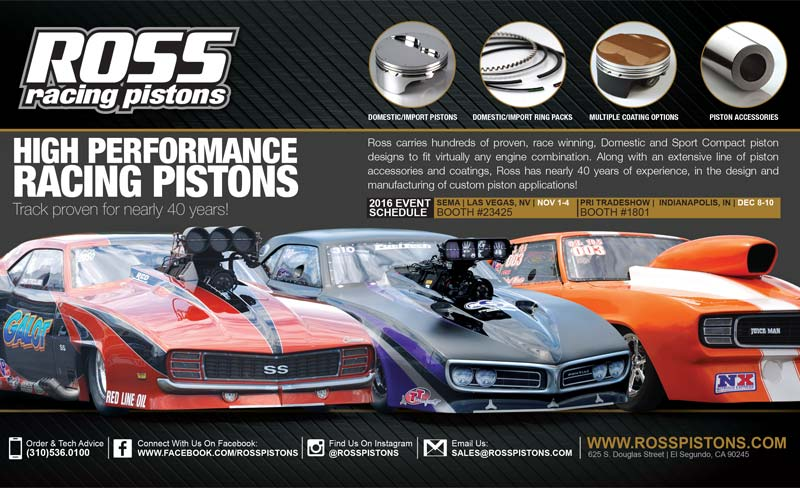 Ross Racing Pistons Ad Design By A Digital Mind