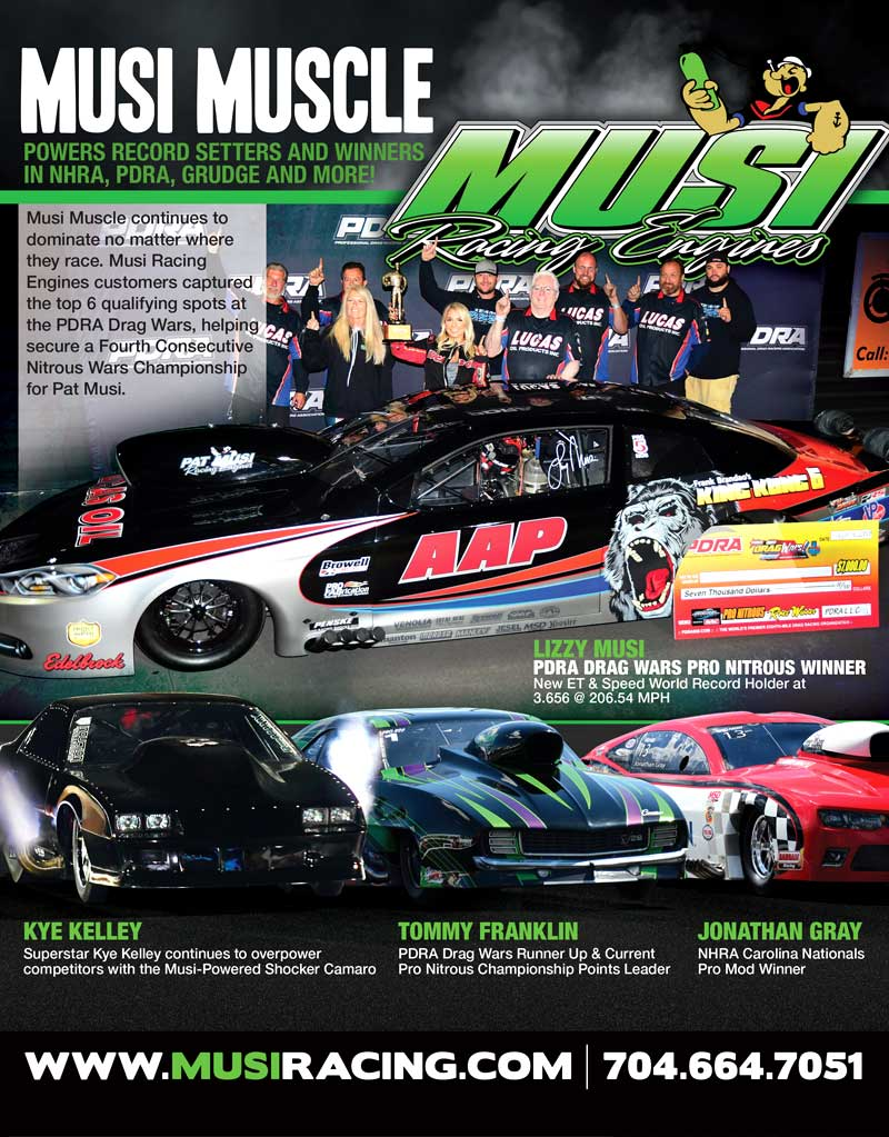 Pat Musi Racing Engines Ad Design By A Digital Mind Maryland