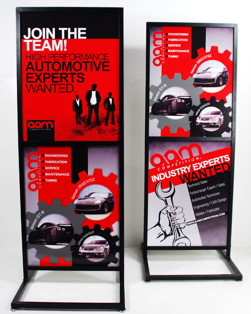 AAM Competition Annapolis Maryland Display Signs Designed By A Digital Mind