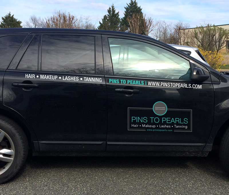 Pins To Pearls Vehicle Vinyl Decals By A Digital Mind