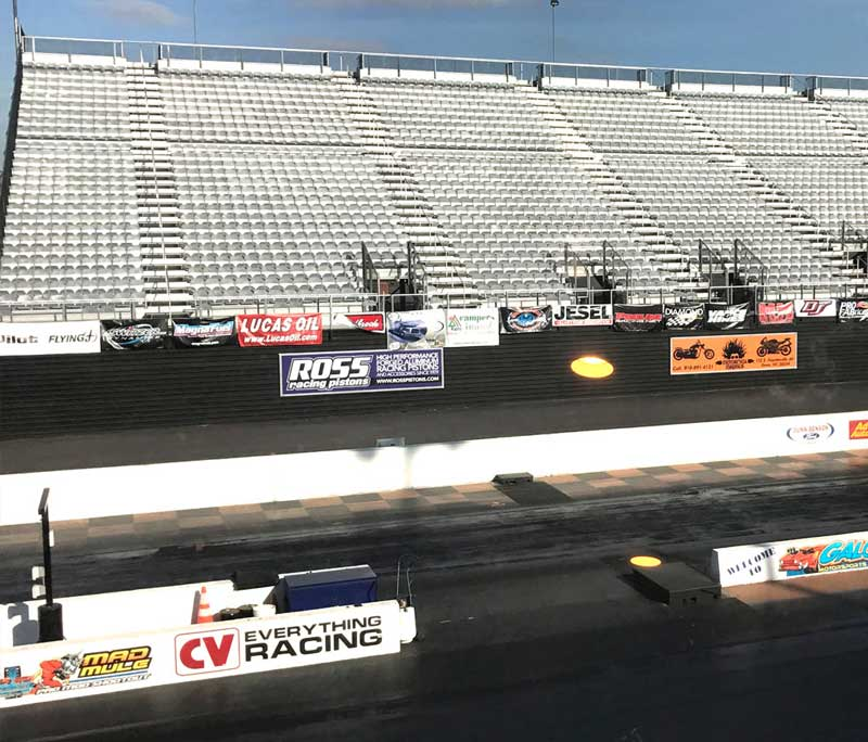 Ross Racing Pistons Trackside Large Banner Display Design By A Digital Mind