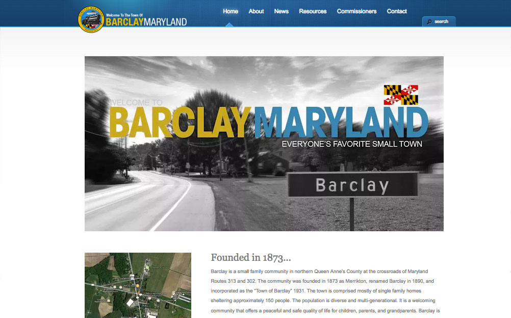 Barclay Maryland Website Design By A Digital Mind