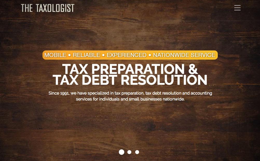 The Taxologist Debt Resolution Services Murrieta California Site Design By A Digital Mind